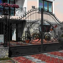 Кованые ворота КВ_20