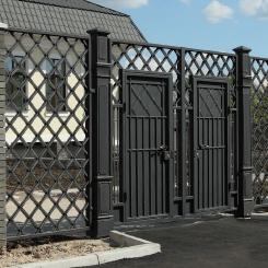Кованые ворота КВ_58
