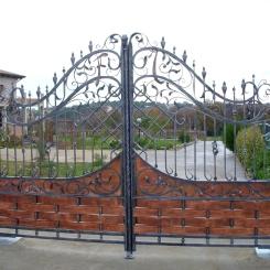 Кованые ворота КВ_60