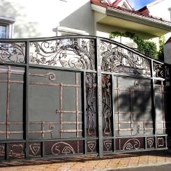 Кованые ворота КВ_63