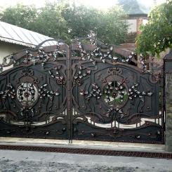 Кованые ворота КВ_21