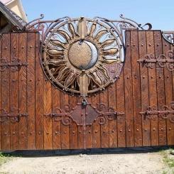 Кованые ворота КВ_67