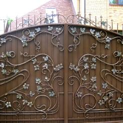 Кованые ворота КВ_72