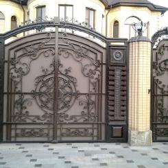 Кованые ворота КВ_73