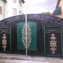 Кованые ворота КВ_75