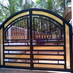 Кованые ворота КВ_79