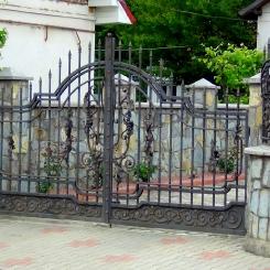Кованые ворота КВ_81