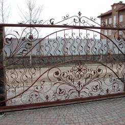 Кованые ворота КВ_82