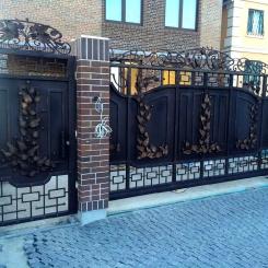 Кованые ворота КВ_84