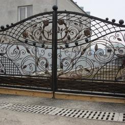 Кованые ворота КВ_23