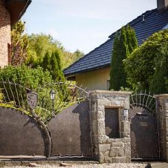 Кованые ворота КВ_92