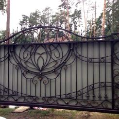 Кованые ворота КВ_93