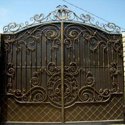 Кованые ворота КВ_94