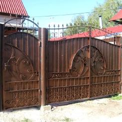 Кованые ворота КВ_95