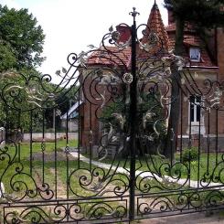 Кованые ворота КВ_24