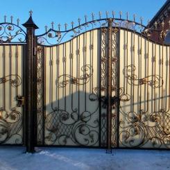 Кованые ворота КВ_98