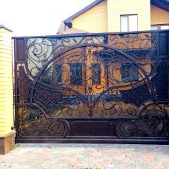 Кованые ворота КВ_101