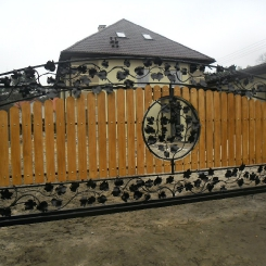 Кованые ворота КВ_104