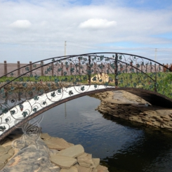 Кованый мостик КМ_1
