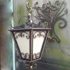 Кованый фонарь КФ_15
