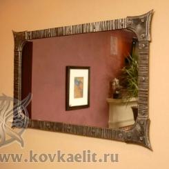 Кованое зеркало КЗ_10
