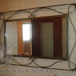 Кованое зеркало КЗ_11