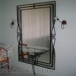 Кованое зеркало КЗ_13
