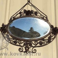 Кованое зеркало КЗ_15
