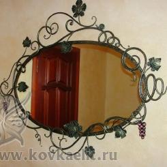 Кованое зеркало КЗ_21