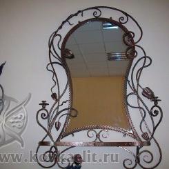 Кованое зеркало КЗ_25
