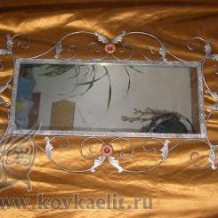 Кованое зеркало КЗ_26