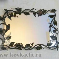Кованое зеркало КЗ_29