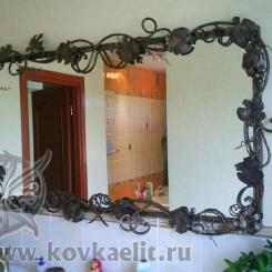 Кованое зеркало КЗ_9