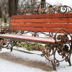 Кованые скамейки КС_12