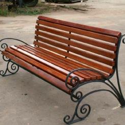 Кованые скамейки КС_19