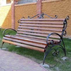 Кованые скамейки КС_20