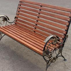 Кованые скамейки КС_21
