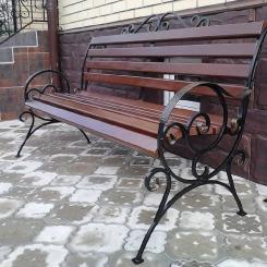 Кованые скамейки КС_22
