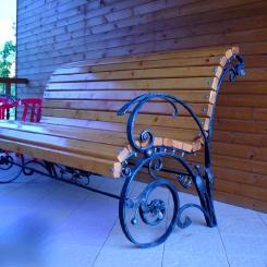 Кованые скамейки КС_23
