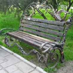 Кованые скамейки КС_30