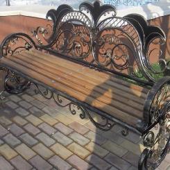 Кованые скамейки КС_31