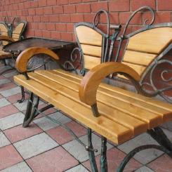Кованые скамейки КС_35