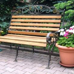 Кованые скамейки КС_7