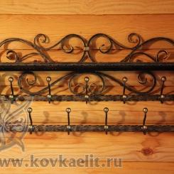 Кованая вешалка КВ_17
