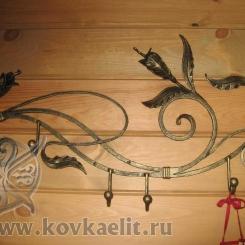 Кованая вешалка КВ_18