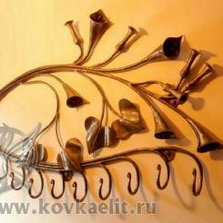 Кованая вешалка КВ_19