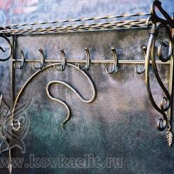 Кованая вешалка КВ_6