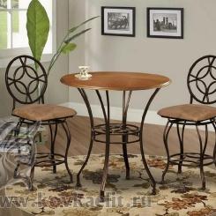 Кованый стол и стулья КСС_13