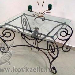 Кованый стол и стулья КСС_22