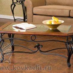 Кованый стол и стулья КСС_25